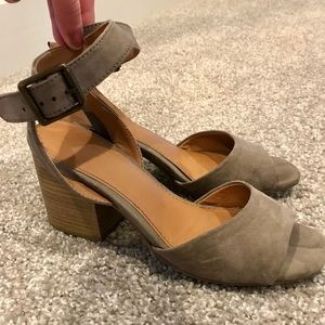 Ankle Strap Short Heels